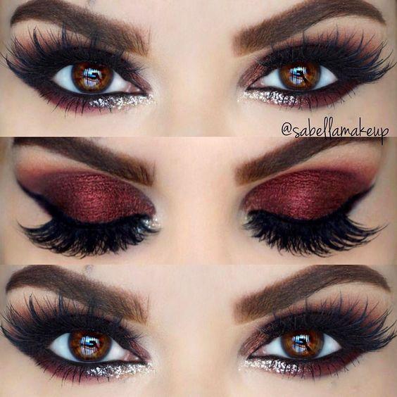 Ghim Của Bestchoice Srr Tren Amazing Makeup Nhũ Mắt Hướng Dẫn Trang điểm Mắt Bộ Sưu Tập Trang điểm