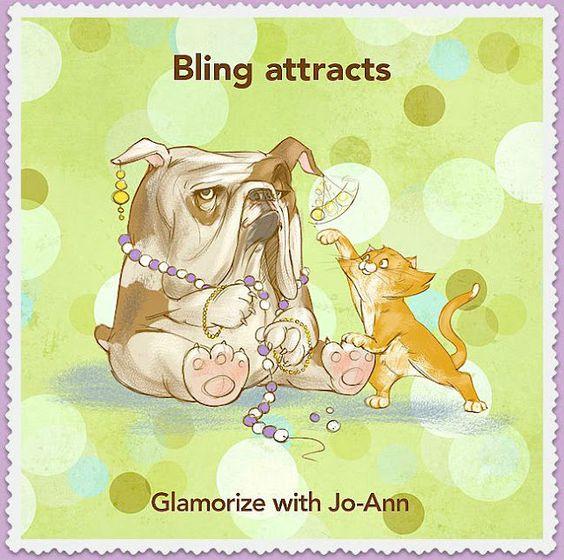 Bling Attracts ♢ Glamorizing 24-7-365    #PinPals #Glam #Kitten #Puppy