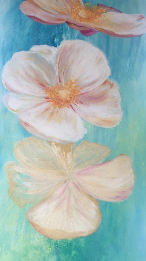 Blumen Malen Mit Acrylfarben In 8 Einfachen Schritten In 2020