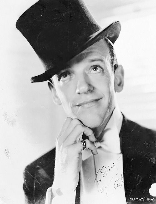 Fred Astaire - my late uncle's influence