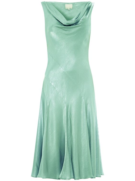 Ghost Lucy Dress, Dusty Green