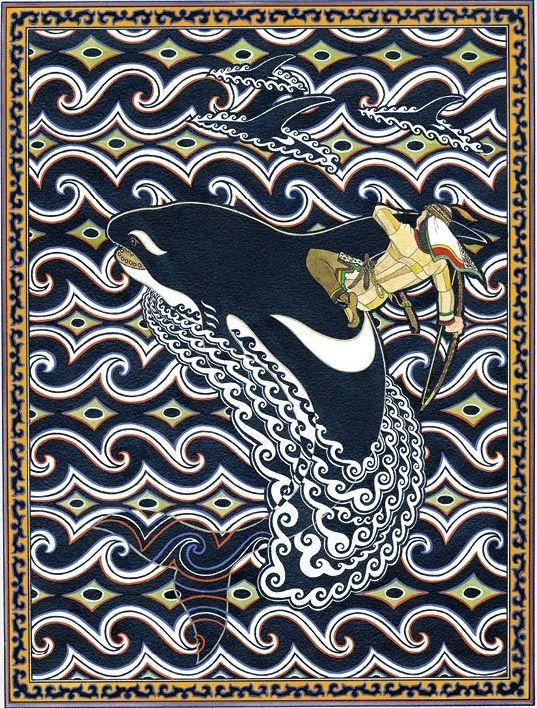 'Folktales of the Amur: Stories from the Russian Far East' by Dmitriĭ Nagishkin, illustrated by Gennadiĭ Pavlishin: