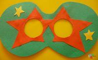 Invito mascherato: sembra una mascherina ma è anche un originale bigliettino d'invito ad una festa in maschera