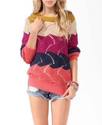.: Fall Style, Fashion Clothes, Fashion Style, Knit Sweaters, Cute Sweaters, Clothes Fashion, Colorblocked Open, Fall Fashion, Forever21 2019571269