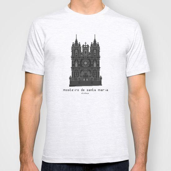 HexArchi - Portugal, Alcobaça, Mosteiro de Santa Maria . Igreja T-shirt