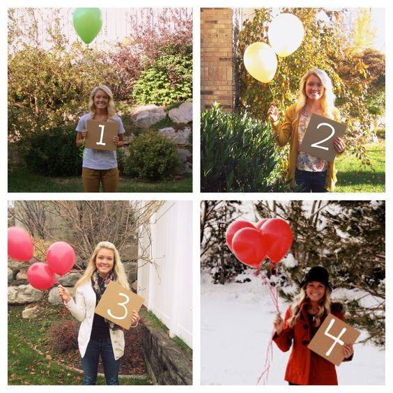 Missionary milestones. Take a picture for every month that you make it through apart holding the number and that many balloons. Send them to him along the way or give them all to him once he gets back. 24 months, 24 pictures. Two years apart.