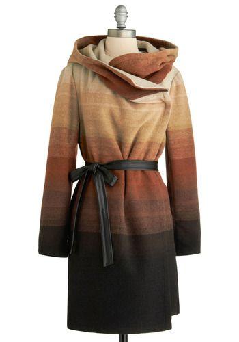 ombre elegance coat