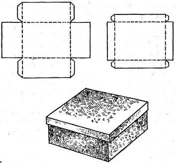 Как сделать коробку для подарка своими руками?