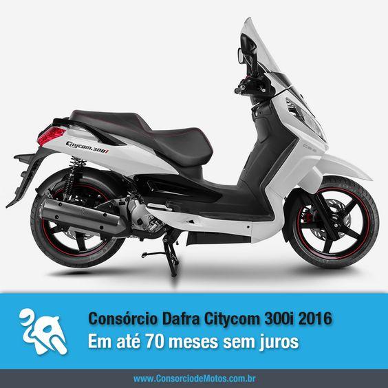 Você já pode programar a compra da sua Dafra Citycom 300i 2016 por meio do consórcio. Aproveite: https://www.consorciodemotos.com.br/noticias/consorcio-dafra-citycom-300i-2016-em-ate-70-meses-sem-juros?idcampanha=288&utm_source=Pinterest&utm_medium=Perfil&utm_campaign=redessociais
