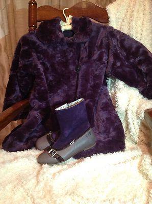 Corky Coat Purple Dolche & Gabbana Boutique Boots