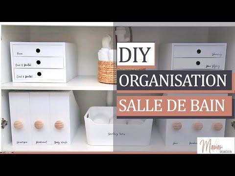 Organisation Maison Rangements Salle De Bain A Petit Prix Diy Rangements Maman Rangement Salle De Bain Astuce Rangement Salle De Bain Organisation Maison