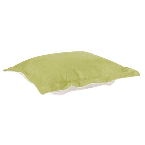 Howard Elliott Mojo Kiwi Puff Ottoman Cushion