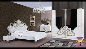 احدث تصميمات وديكورات غرف نوم مودرن رومانسية للعرسان 2021 Home Bed Decor