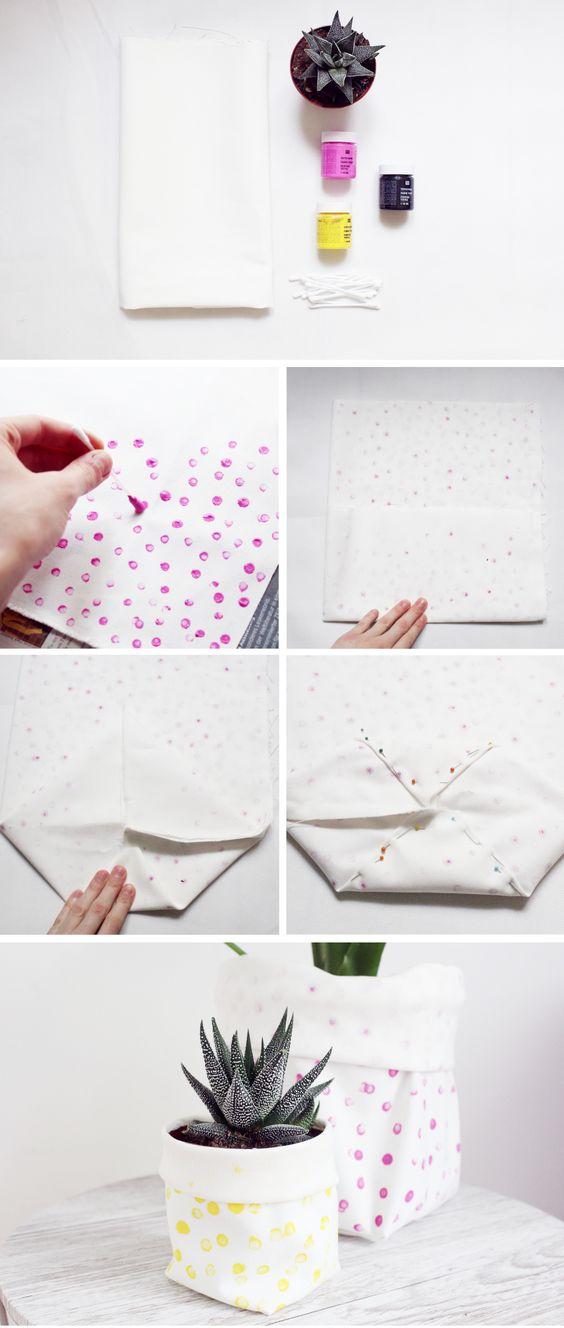 Blument pfe aus stoff selber machen selber machen - Wandbilder aus stoff ...