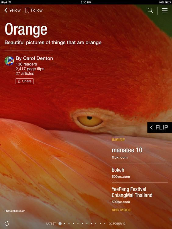 Flip through Orange by Carol Denton http://flip.it/b297b