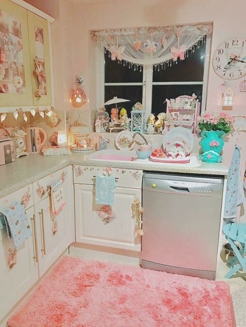 Proof That Your Kitchen Can Look Any Way You Want It To Look Shabby Chic Kitchen Shabby Chic Decor Bedroom Shabby Chic Kitchen Decor