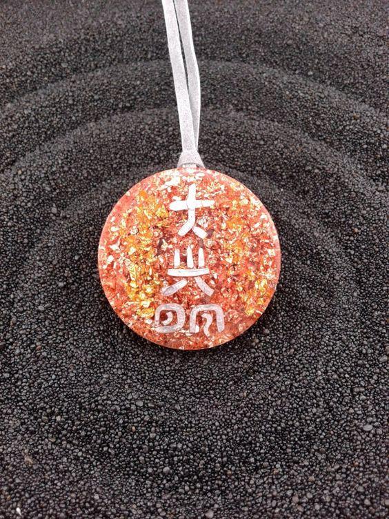 Reiki Dai Ko Myo Orgonite Pendant by OrgoneVibes: