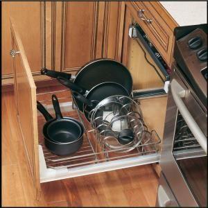 rev a shelf premiere 24 in cookware organizer 5389 21cr. Black Bedroom Furniture Sets. Home Design Ideas