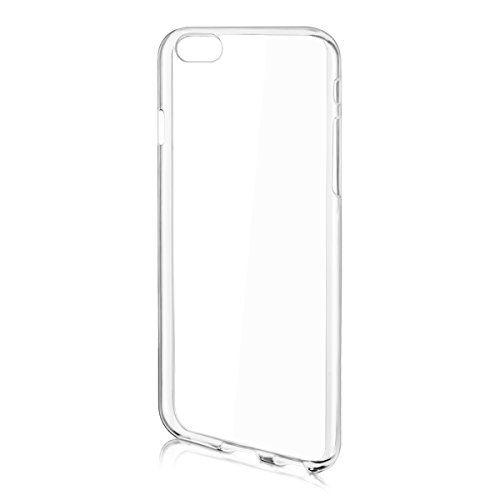 Custodia per Apple iPhone 6 4.7 BACK TRASPARENTE Cover Case di