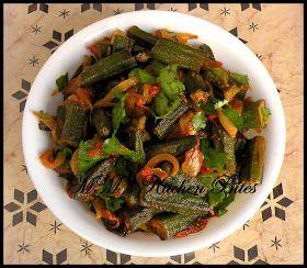 MM's Kitchen Bites: Punjabi Bhindi Masala...Mom, don't you dare faint!!