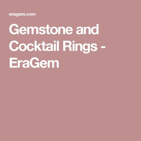 Gemstone and Cocktail Rings - EraGem