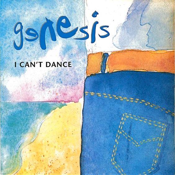 Genesis – I Can't Dance (single cover art)