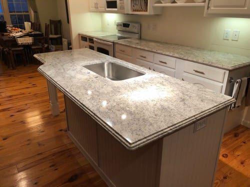 Type Of Job Kitchen Countertops Material Granite Color Bahamas