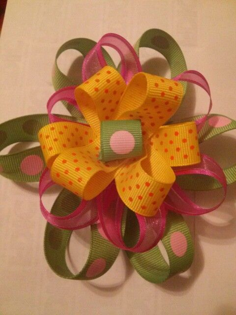 Hair bows.$6.50  any color
