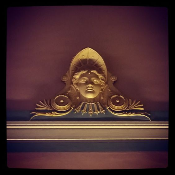 #Hall #immeuble 79 rue du Taur #Toulouse Détail #décor #moulure #mascaron