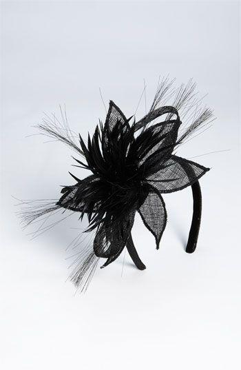 Tasha sinamay derby flower headband