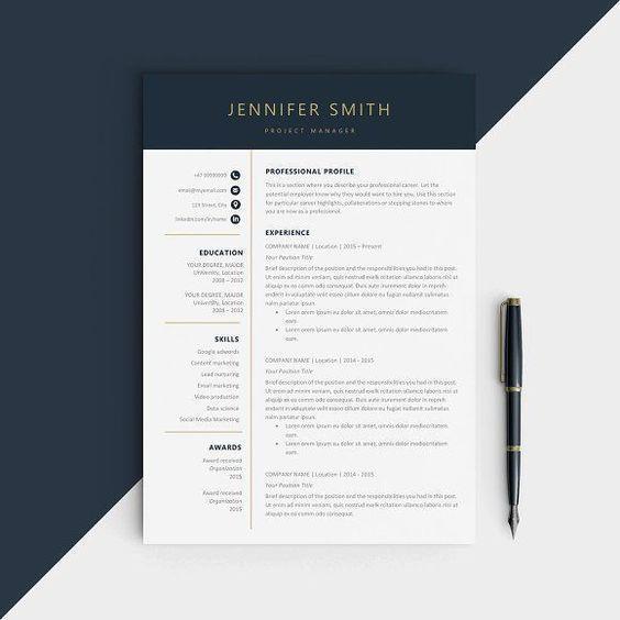 Cv Resume Template Resume Design Template Modern Resume Design Best Resume Template