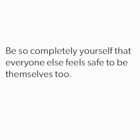 Your authenticity invites and paves the way for the authenticity of those around you. You, simply being you, is inspiring. #createthelove