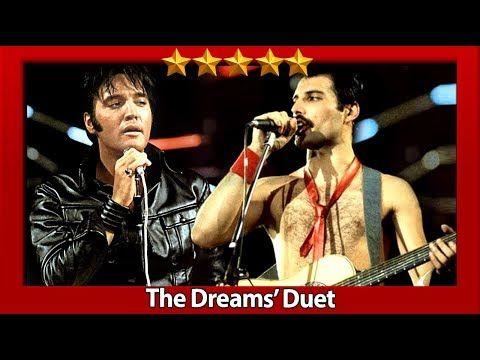 Freddie Mercury Elvis Presley Crazy Little Thing Called Love