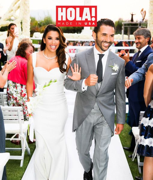 Eva Longoria and Jose got married last weekend!