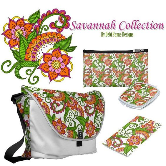 This week's WOW Wednesday Product Spotlight is on the Savannah Collection.  This design if a perfect design for the summertime.  #artlicensing #zazzle #debipaynedesigns
