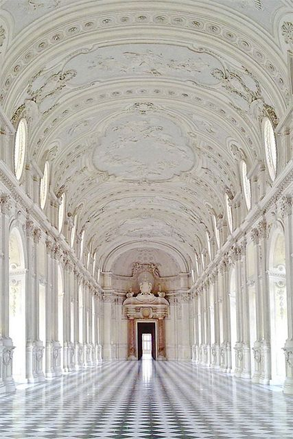 Palacio de Venaria en Turín, Italia.