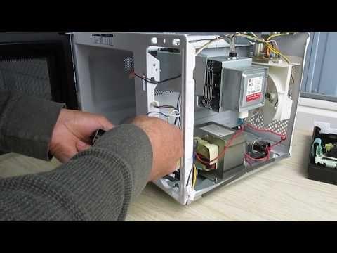 Como Reparar Un Microondas Kenmore Solo Funcina El Contador Del Tiempo Modelo 405 73093310 Youtube Reparación Microondas Reparar