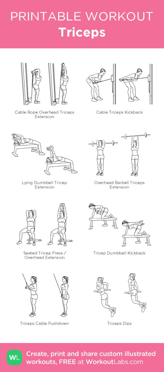 how to make biceps and triceps at home
