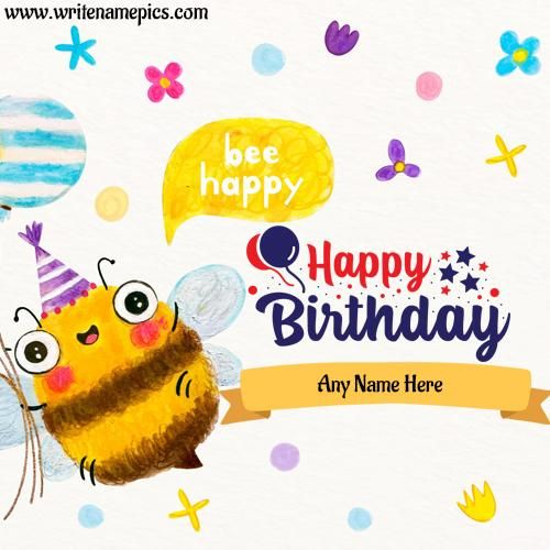Create Online Birthday Card With Name Image Online Free Birthday Card With Name Birthday Wishes With Name Editable Birthday Cards