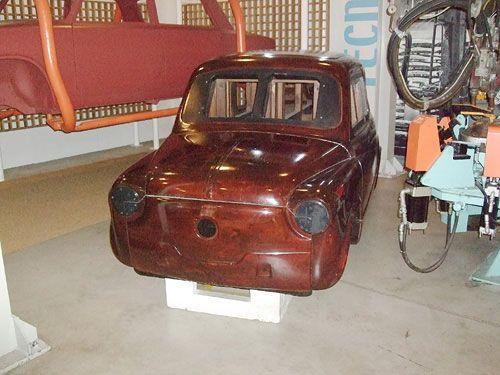 Fiat 600 (wooden master)