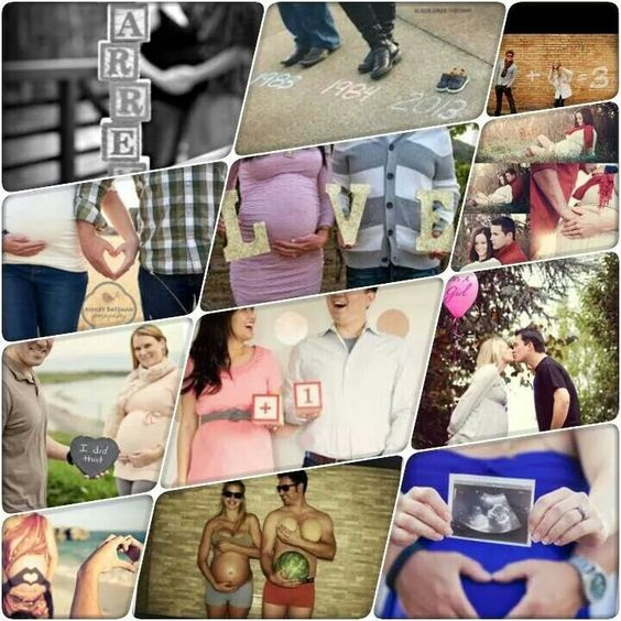 Cute maternity picture ideas!