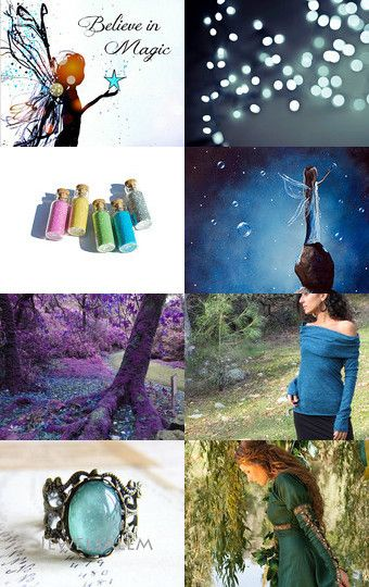 Inspired by the Fairies by Paula on Etsy--Pinned with TreasuryPin.com