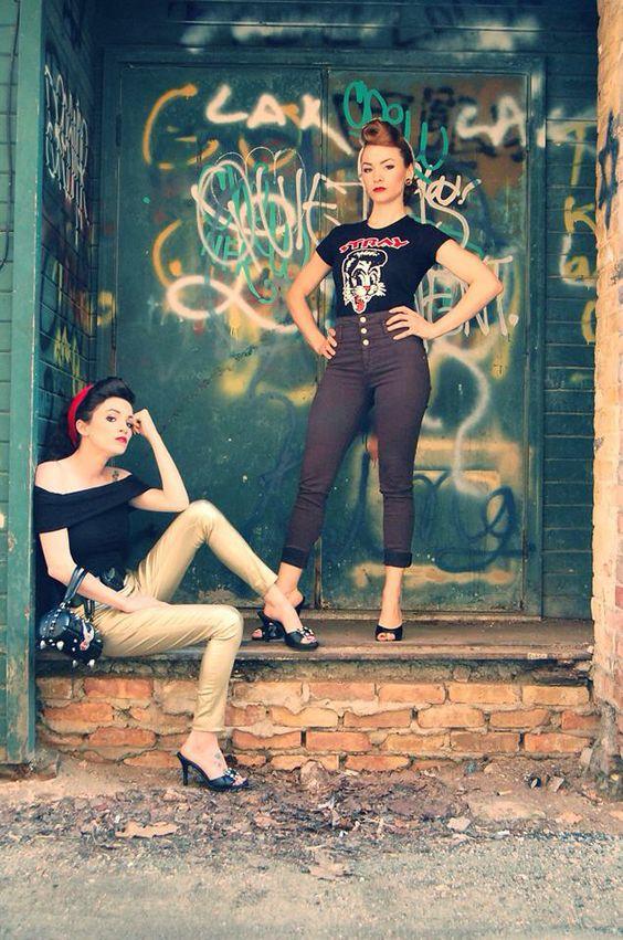 #rockabilly #justSoBadass #rubyrotten #moxieGrace #missmotoblot