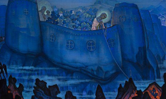 Madonna Laboris by Nikolai Roerich (1931)
