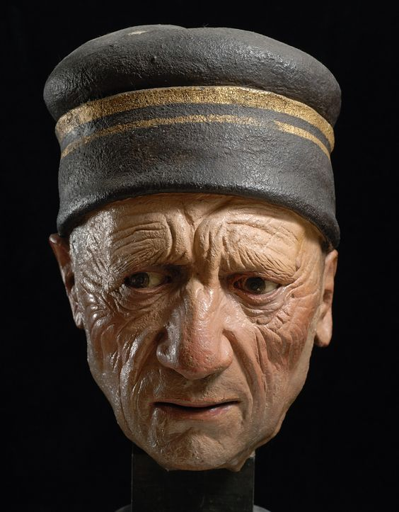 Terracotta sculptures by Guido Mazzoni (1450-1518).