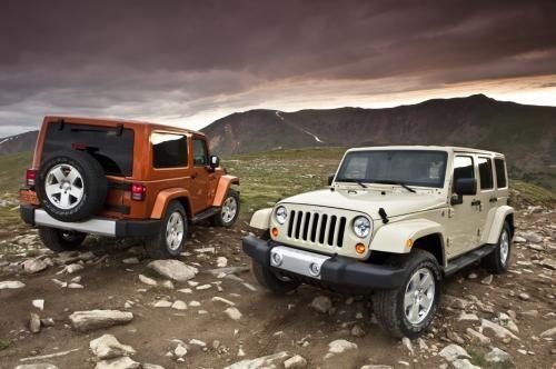 Jeep Wranglers, man I want one