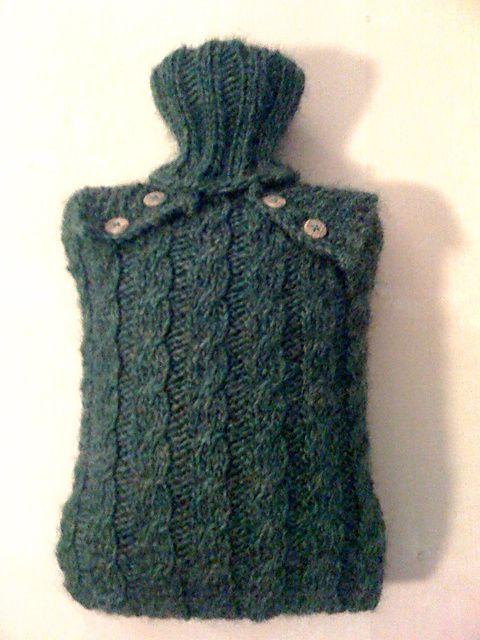 Knitting Pattern For Hot Water Bottle Cozy : Pinterest   The world s catalog of ideas
