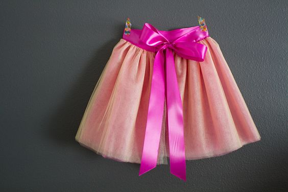 pink and gold tutu from Oliver + S Little Things to Sew book