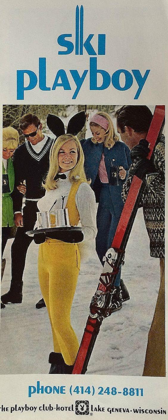 Ski Playboy | 1960s Time Machine | Pinterest | Ski, Snow