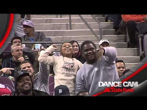 Watch the whole battle here: | Unexpectedly Awesome Dance Battle Breaks Out At NBA Game